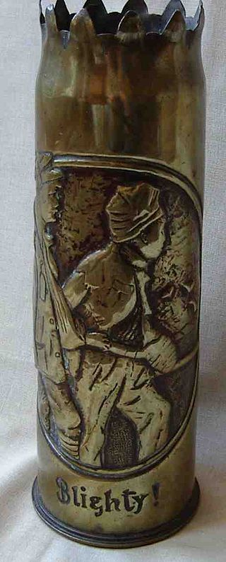Death Above And Death Below World War I Trench Art