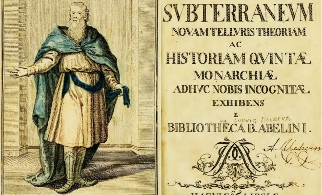 Latin edition of Niels Klim