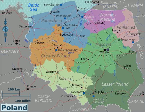 Poland regions