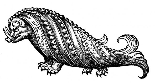 Rosmarine-Boar Whale-Gesner 1555