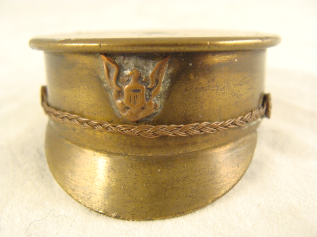 SM79 Trench Art Officers Hat