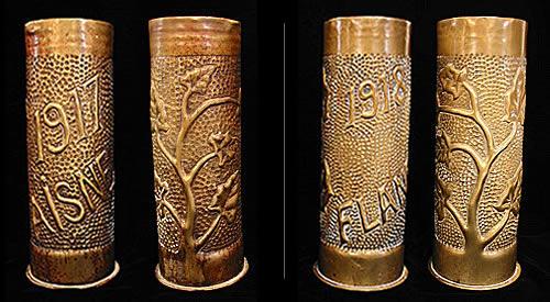 Trench-Art-Vases
