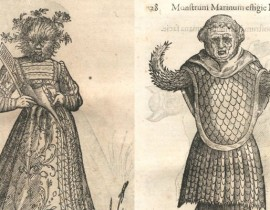 Monsters & Madness… The Drawings of Ulisse Aldrovandi