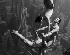 1250 Feet From Death&#8230; <br/>Acrobats on Skyscrapers