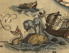 Unicorns, Serpents and Mermaids&#8230; <br/>Medieval Sea Monsters