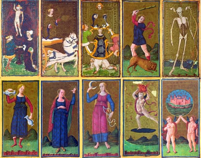 le TAROT PIERPONT-MORGAN-VISCONTI de Milan, vers 1441 ou 1452