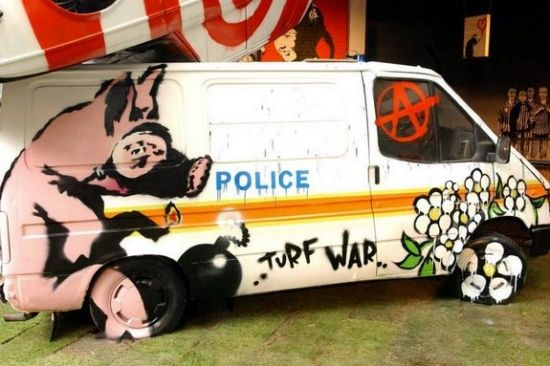 Banksy - Graffitti Exhibition