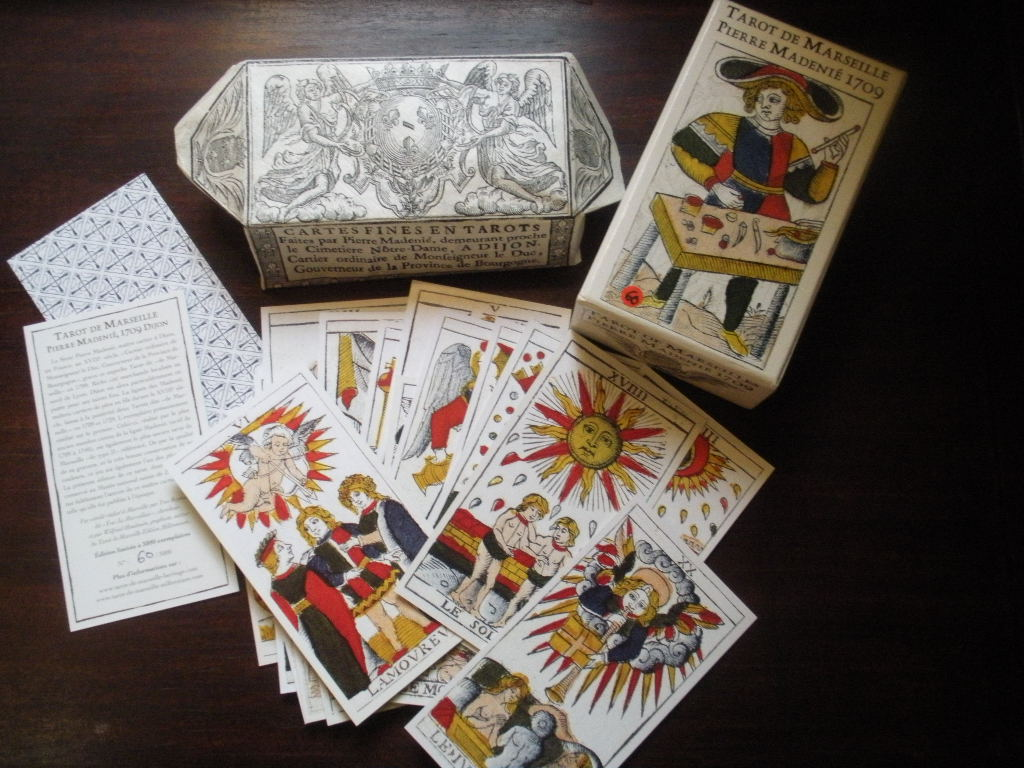 the empress and death antique tarot cards