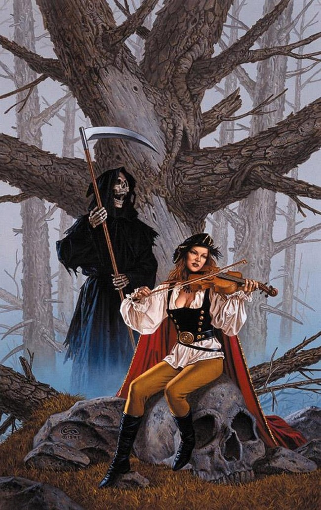 Fiddler Fair By Clyde Caldwell