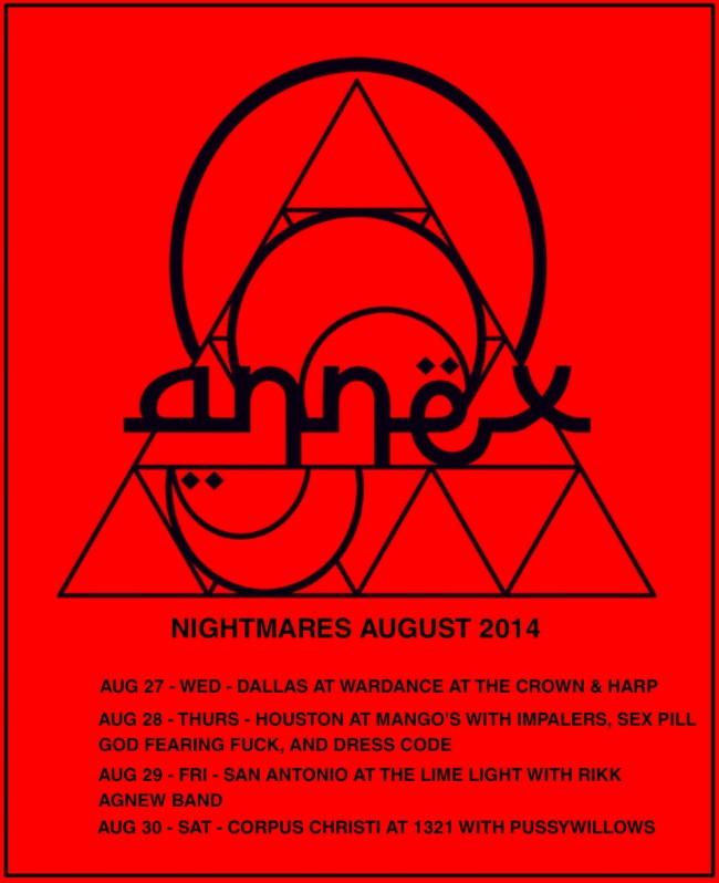 Annex August tour