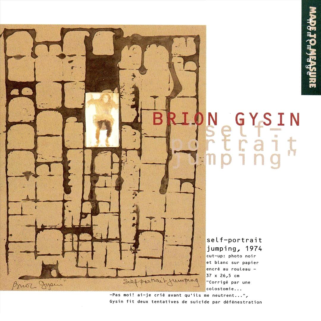 Brion Gysin - Self-Portrait Jumping (CVLT Nation)