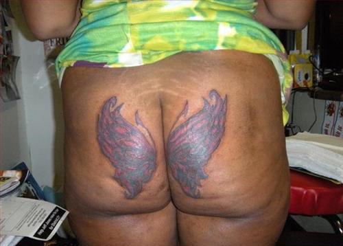 Bad-Tattoos-Wings-on-butt-ass