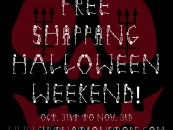 Halloween Weekend Free Shipping on the CVLT Nation Store!