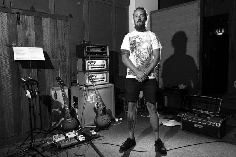 Jimbob Issac In Monnow Valley Studios By Richard Isaac (CVLT Nation)
