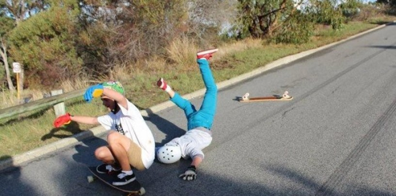 Broken bones & Cracked Skulls <br/>Longboard FAILS!