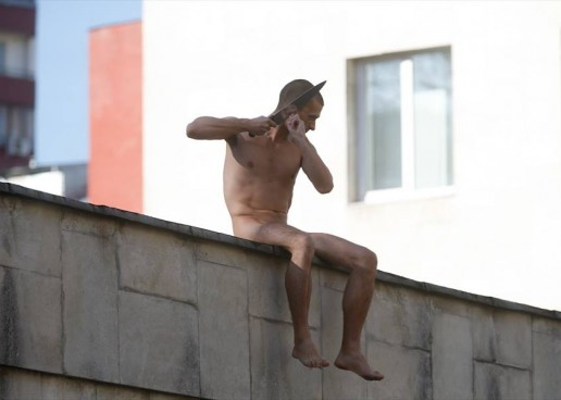 Pyotr Pavlensky Cuts Ear off in Protest of Political Psychiatry