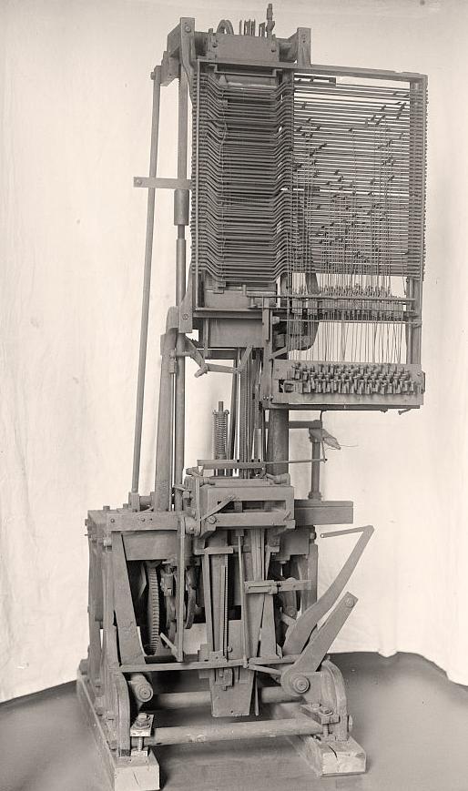 Linotype-Machine