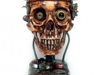 Flesh Metal… Igor Verniy's Cyborg Skulls