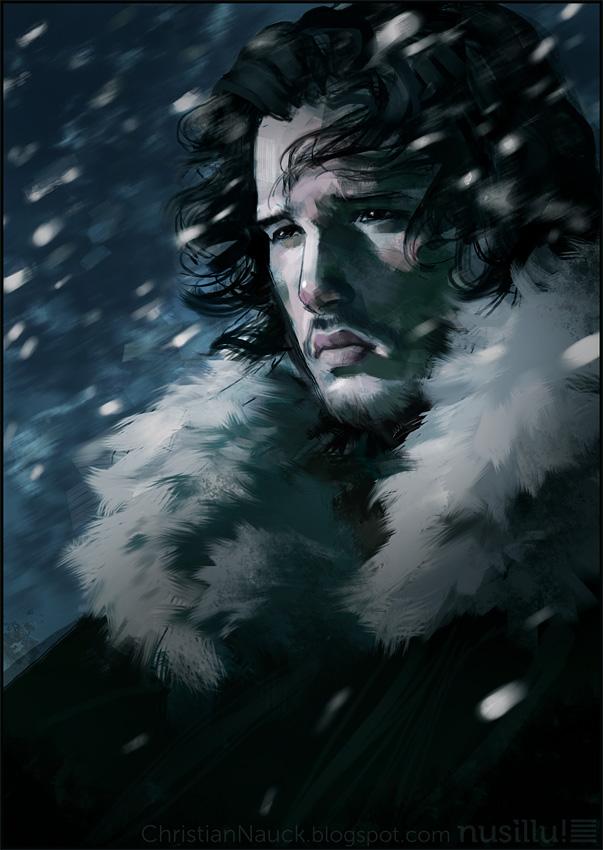 ChristianNauck game_of_thrones____jon_snow_by_manarama-d48za9o