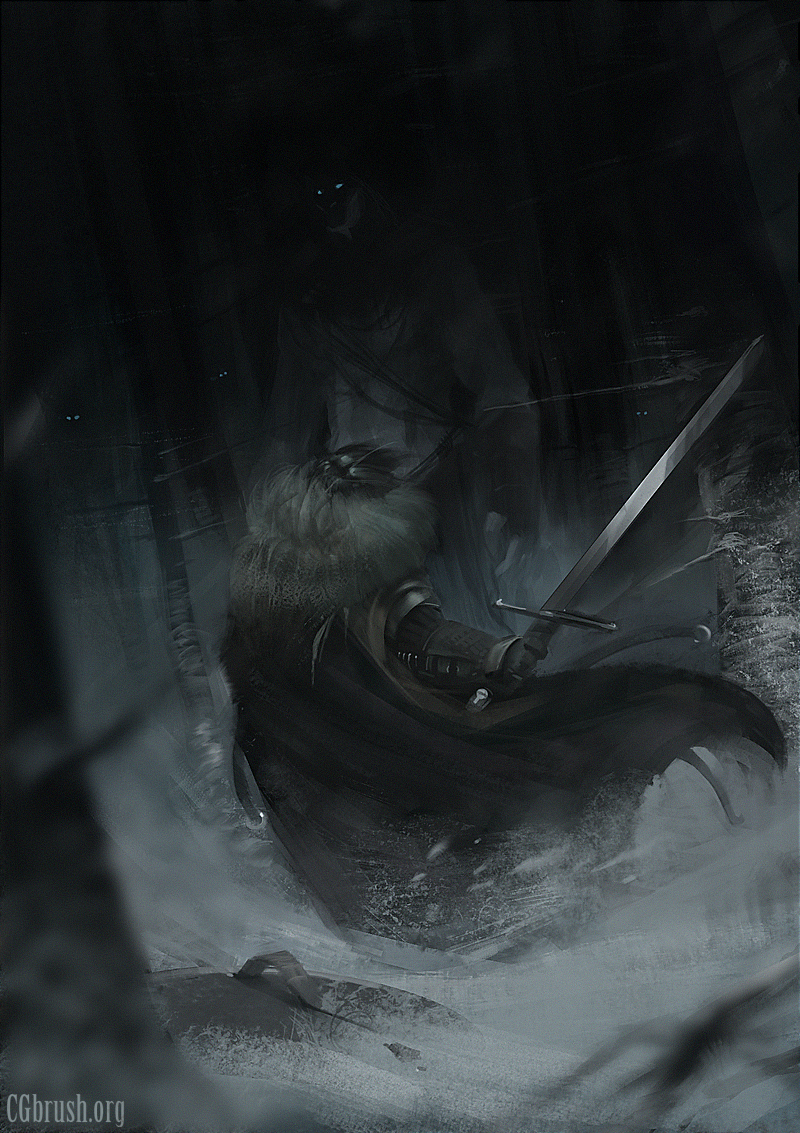 Grobelski speedpainting_8_game_of_thrones_fanart_by_grobelski-d5thy79
