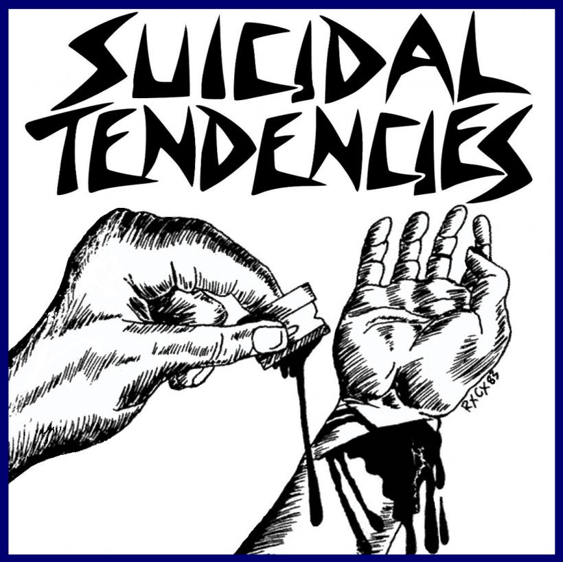 SUICIDAL TENDENCIES - estadio del rayo 1993 front