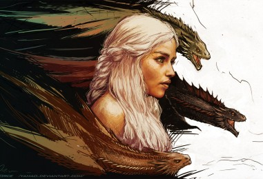 The Blood of the Dragon… Game of Thrones Fan Art