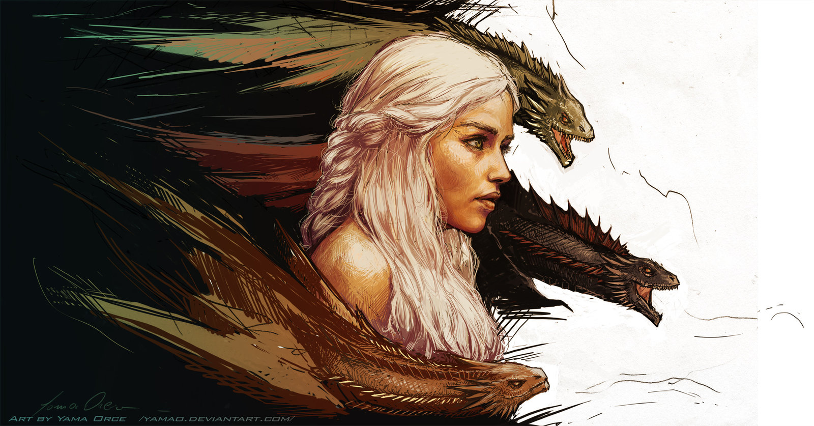 The Blood Of The Dragon Game Of Thrones Fan Art Cvlt Nation