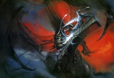 Where the Shadows Lie… John Howe's Tolkien Artwork