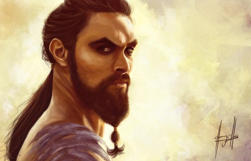 charychu game_of_thrones__khal_drogo_by_charychu-d4wye7v