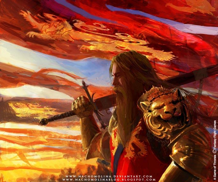 nachomolina a_game_of_thrones_d_lannister_by_nachomolina-d3hrt4h