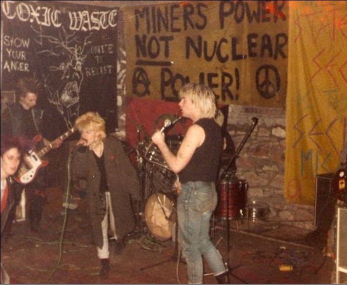 British Punk Culture From The '80s -