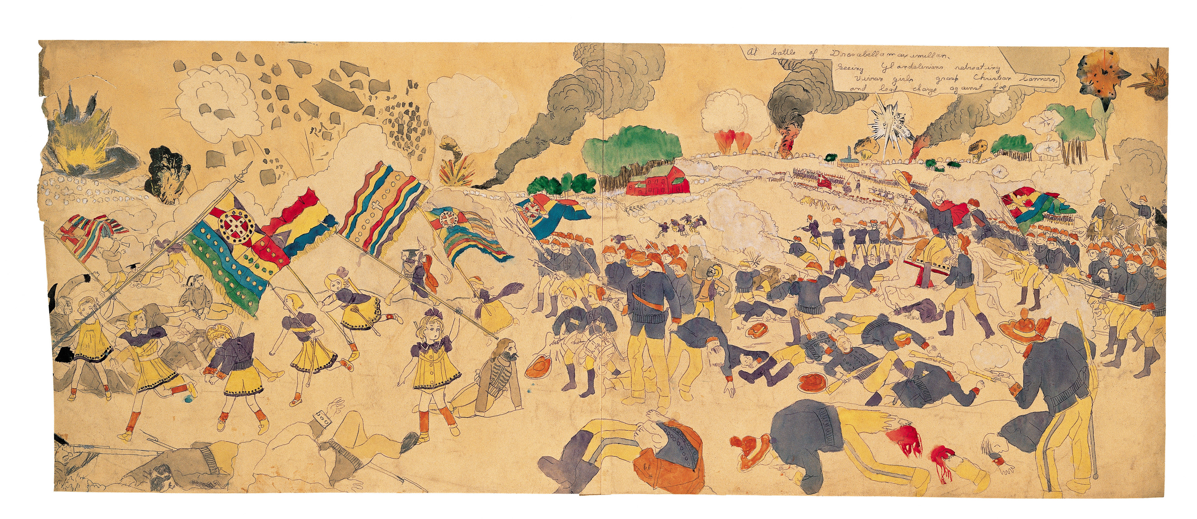 Henry Darger Painting