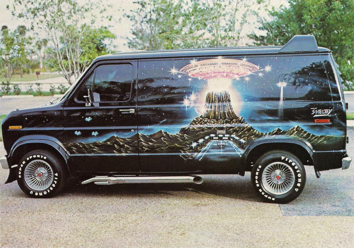 Magic Carpet Ride... 70's Airbrushed Vans