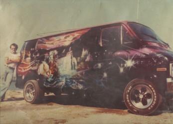 Magic Carpet Ride… 70's Airbrushed Vans