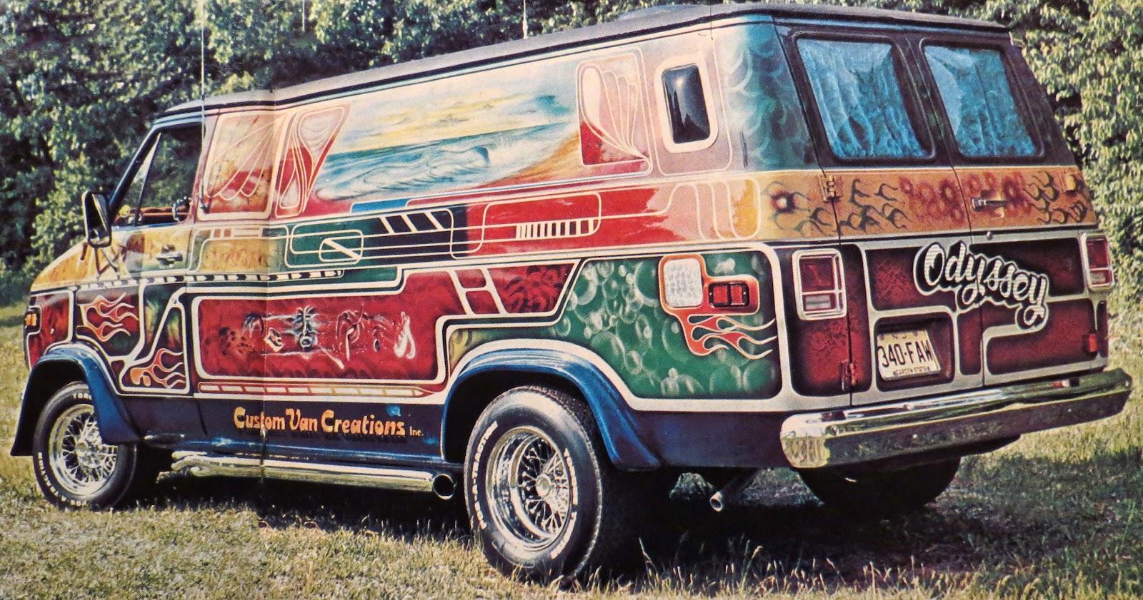 Magic Carpet Ride... 70's Airbrushed Vans Vans Careers