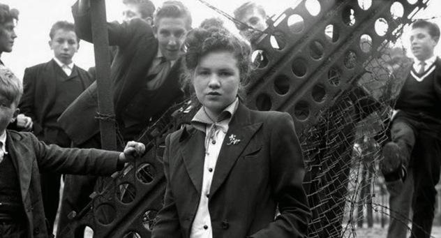 Teddy Girls in London, 1955 (1)