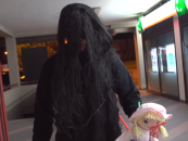 Psycho Witch Stalks the Streets….