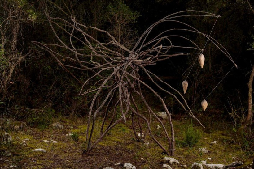 the magical forest sculptures of spencer byles