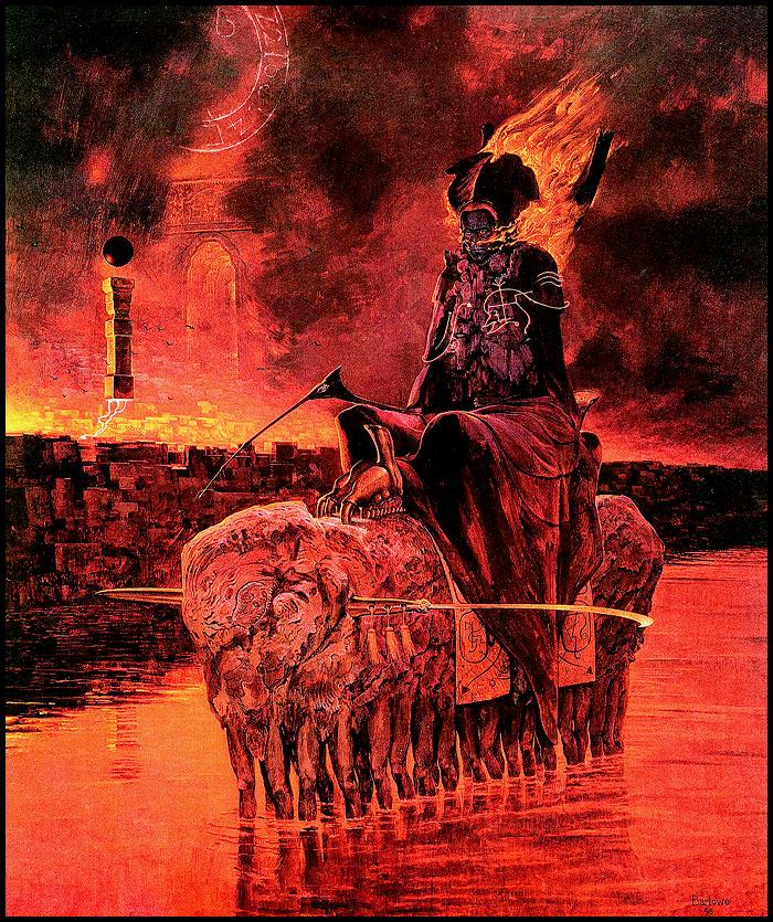 Visions Of Hell The Art Of Wayne Douglas Barlowe Cvlt Nation