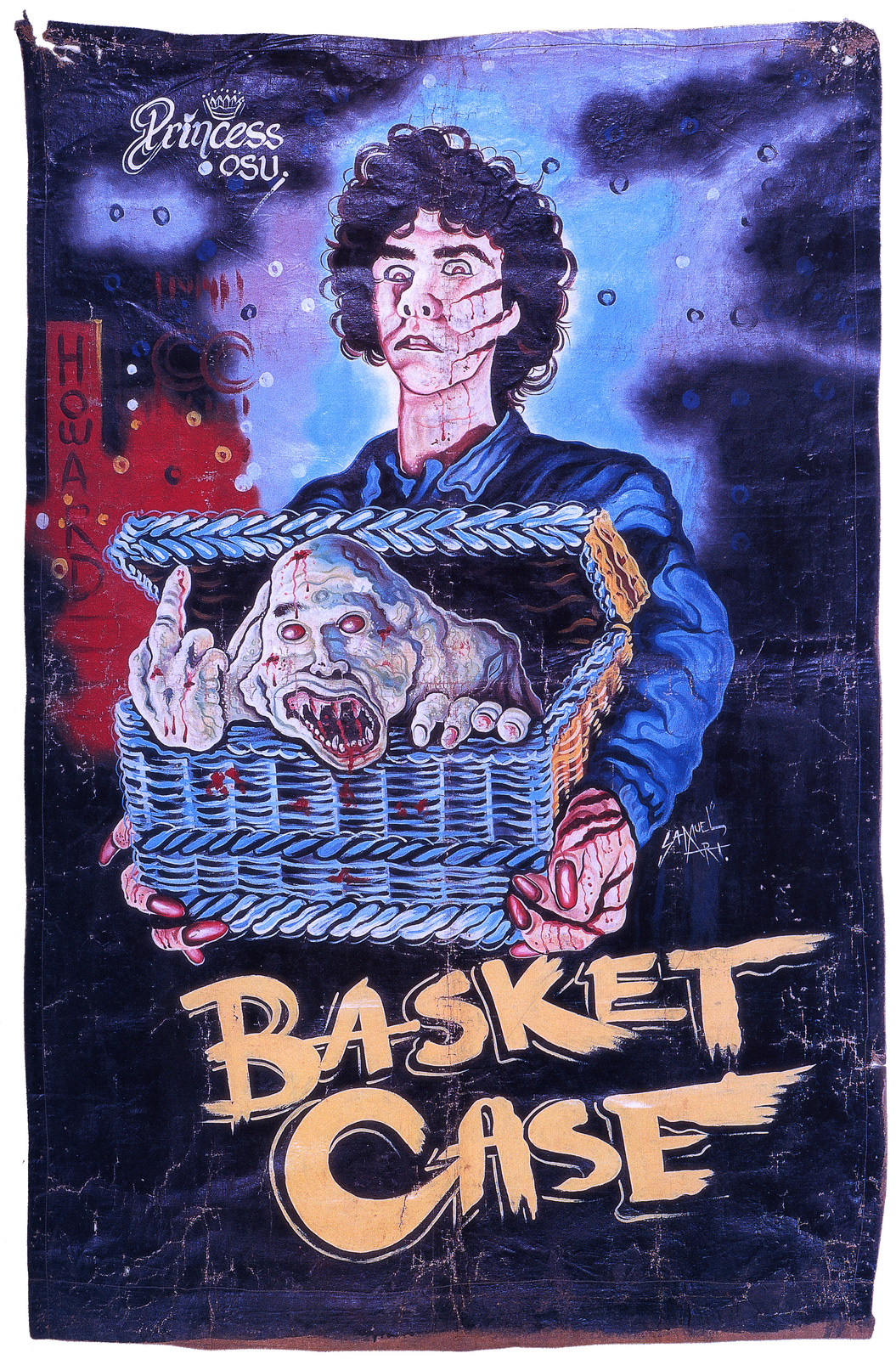 ghana horror posters movie hand painted poster film
