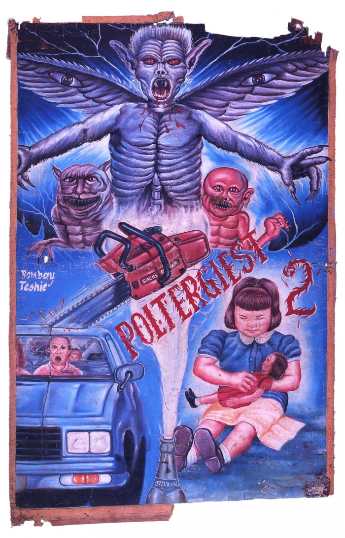 Hand Painted Horror Movie Posters From Ghana Cvlt Nation
