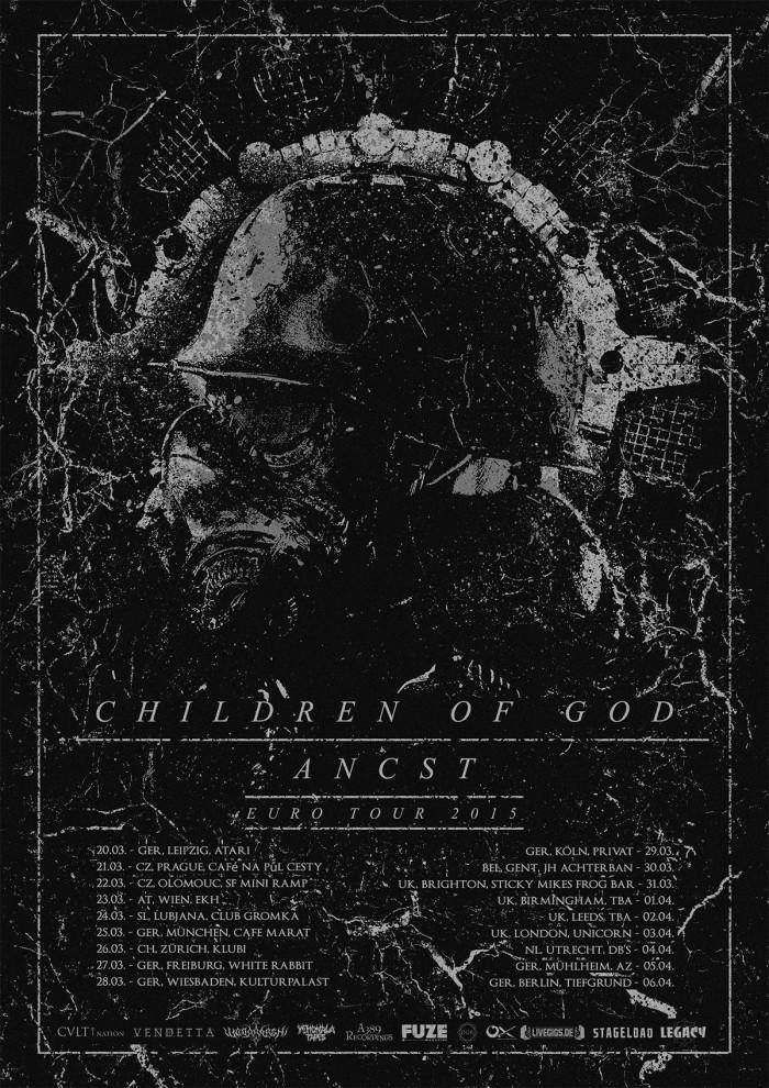 ancst - children of god euro tour