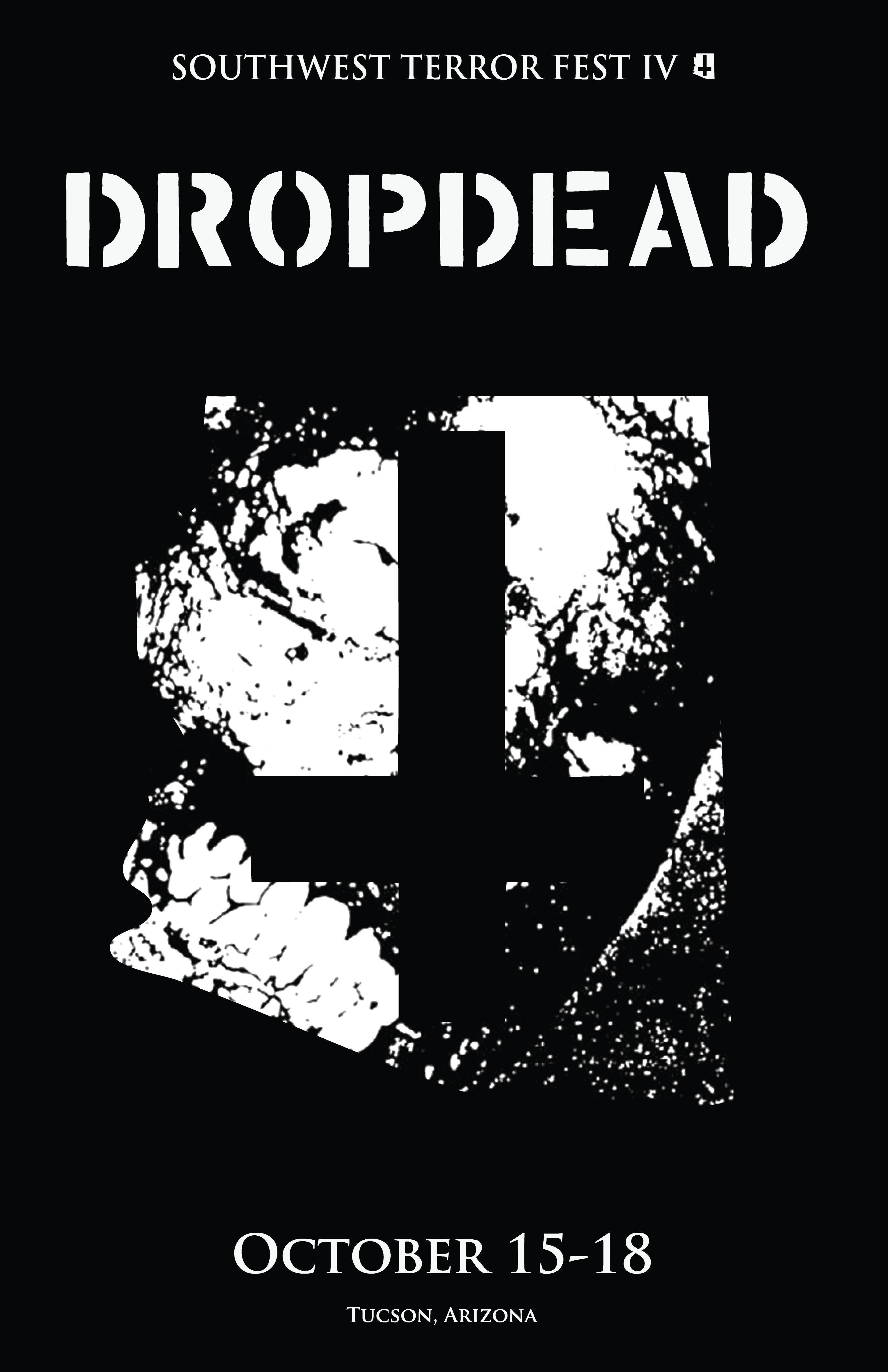 Southwest Terror Fest 2015 Bulletin: DROPDEAD to Destroy ... Drop Dead Clothing History