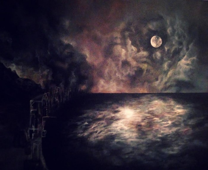 Freezing Moon The Paintings Of Elena Unger Cvlt Nation