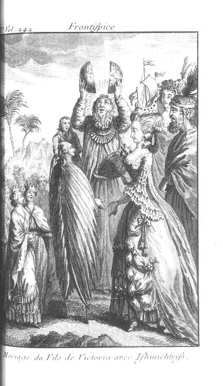 Mariage du fils de Victorin avec Ishmichtriss