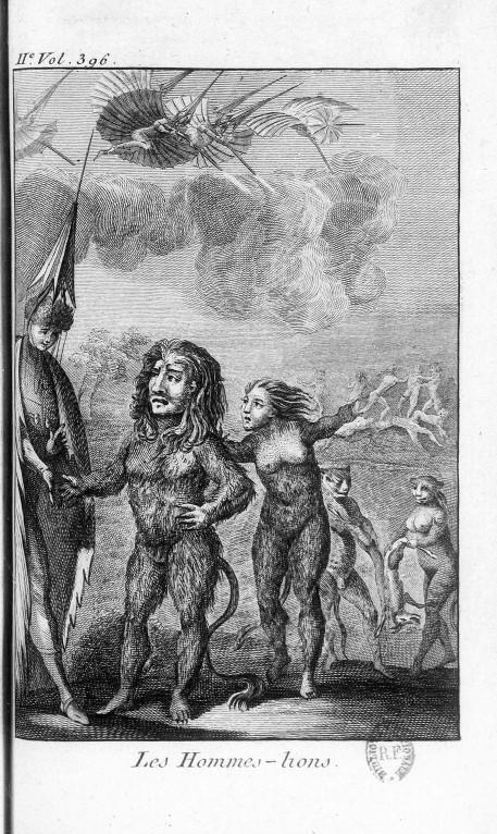 Mythology-French-People-as-lions