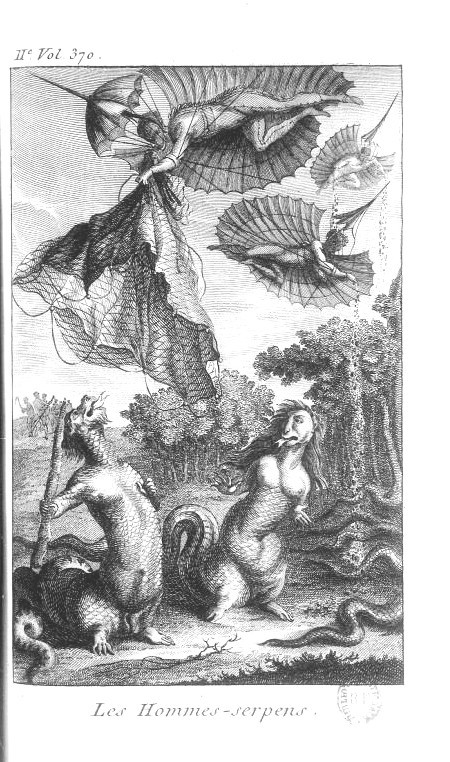 Mythology-French-People-as-serpents