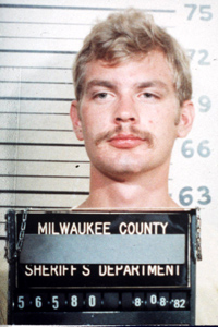 JEFFREY DAHMER -- 1982 Milwaukee county sheriff's department mugshot of serial killer Jeffrey Dahmer. ( AP/files )