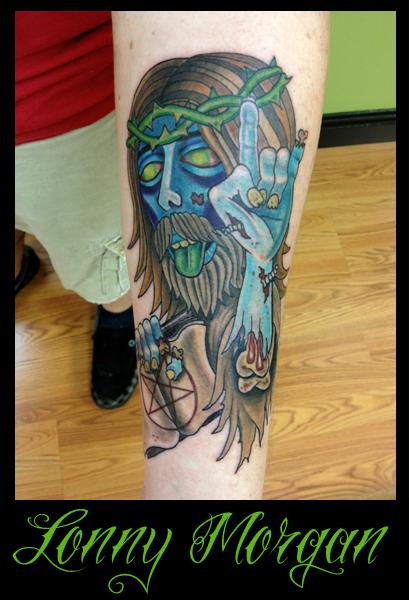 custom_jesus_zombie_tattoo_by_lowkey704-d4s7t24