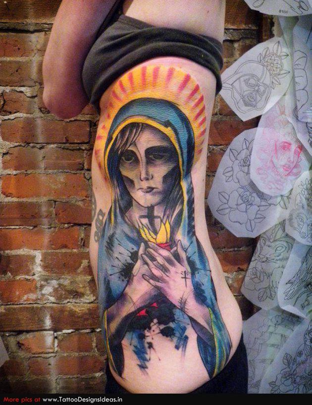 t1_Religious-Tattoos-virgin-mary